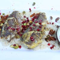 Moroccan Fish with Couscous and Harissa Yoghurt