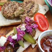 Jamie Oliver's Happy Cow Burgers and Old School Coleslaw