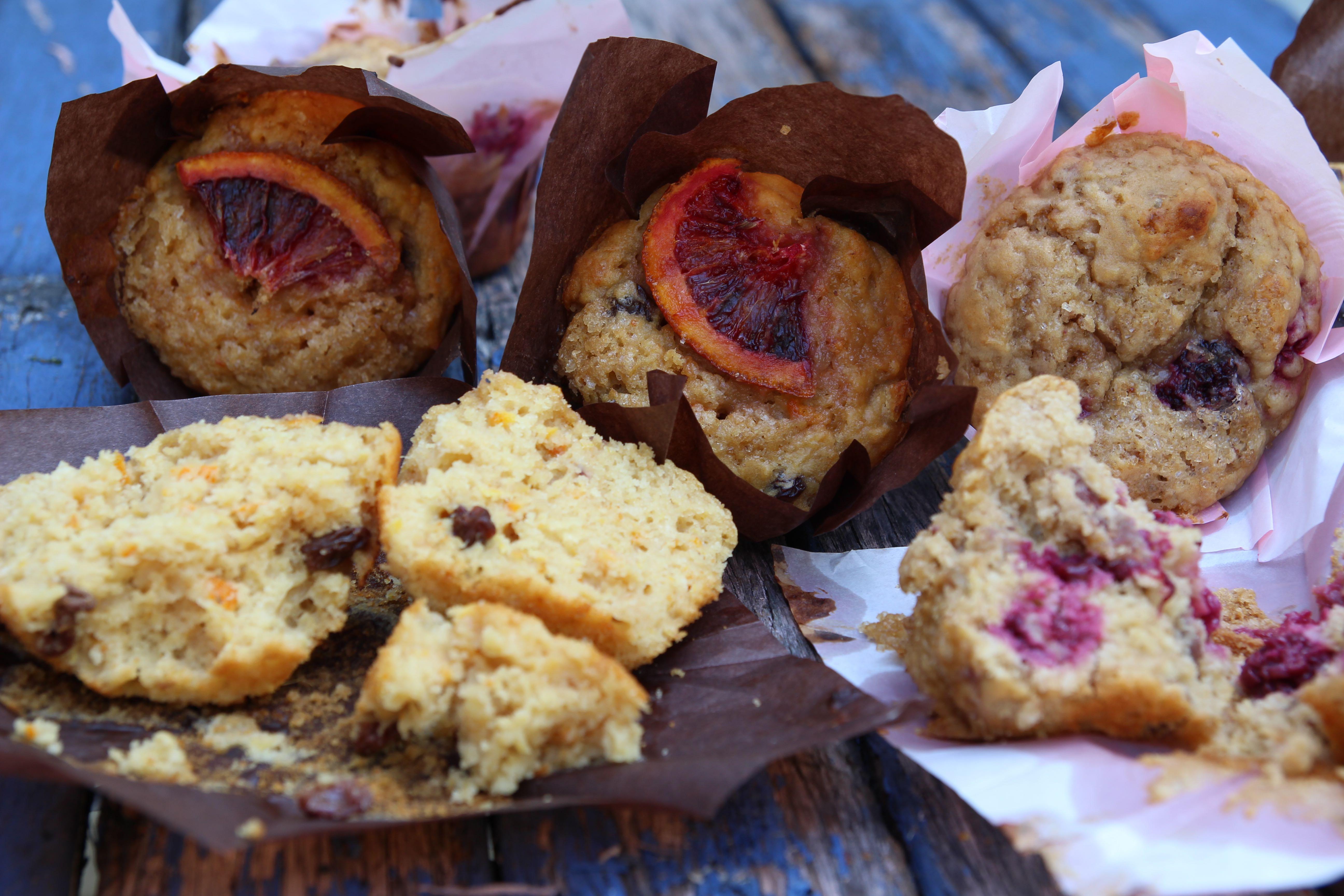 Blood Orange Cake Recipe Jamie Oliver: Raspberry And Walnut Muffins And Blood Orange And Muscat