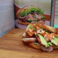 Hot Smoked Salmon Club Sandwich - Jamie Oliver's Comfort Food