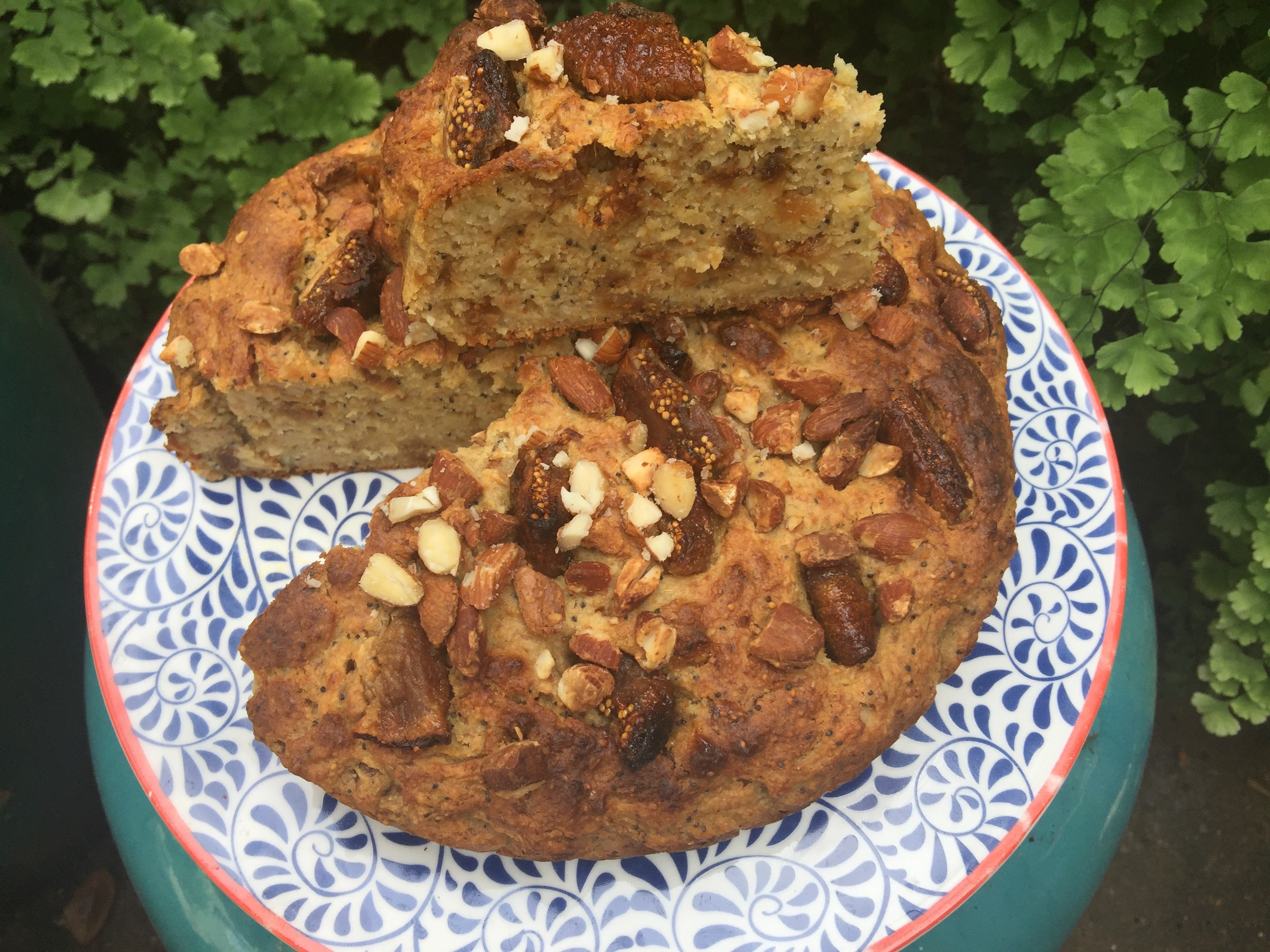 Jamie oliver figgy banana bread the quirk and the cool another lovely recipe from jamie olivers healthy cookbook everyday super food its a banana bread that is very flavoursome and sweet with remarkably forumfinder Images