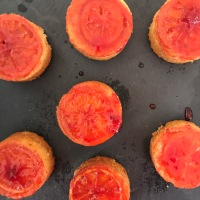 Blood Orange Mini Cakes