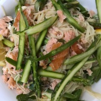 Hot-Smoked Salmon Pasta: Jamie Oliver 5 Ingredients