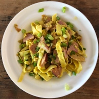 Ham and Curried Egg Noodles: Jamie Oliver 5 Ingredients
