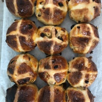 Hot Cross Buns - Great British Bake Off